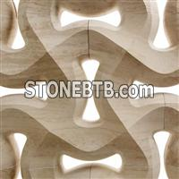 3d sandstone wall decoration