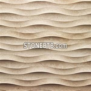 Aritificial 3d decor wall tile