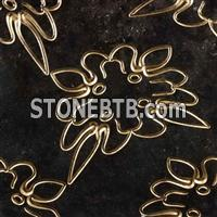3d black granite interior wall board