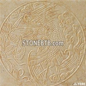 3d golden color marble interior wall boards