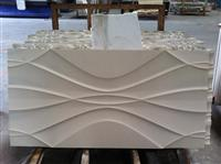 3d stone interior wall covering