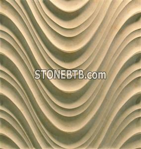 3d cnc artificial stone wall covering