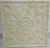 3d sun beige stone wall cladding panel