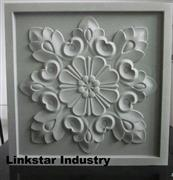 3d cnc exterior and interior marble wall panel
