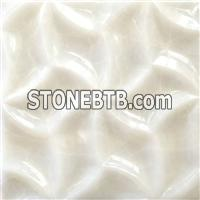 3d crystal onyx feature wall tile