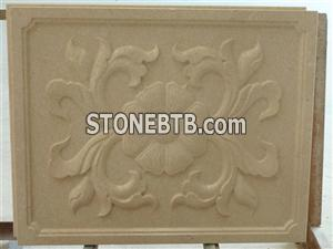 3d natural stone feature covering wall panel
