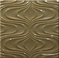 3d natural beige marble feature wall art tile