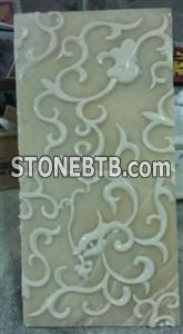 3d decor feature stone wall art sculpture tile