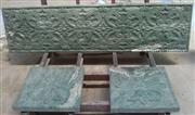 3d natural green artistic marble walling panel