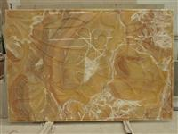 3D Natural Yellow Onyx Wall Cladding Panels
