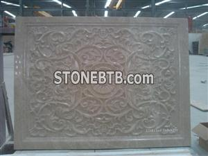 Natural 3D Marble Accent Wall Coverings Panel