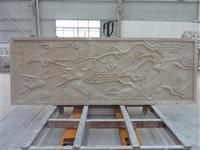 Beige Stone 3D Feature Carved Cladding Wall art panel