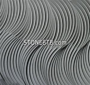 3D natural Crine Stone Wall Tile