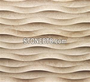 3D Natural Stone Fondo Wall Art Design