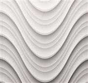 Natural White Stone 3D Wall Surface Tile
