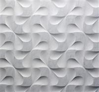 Modular natural stone 3D Bianco Carrara Wall Cladding