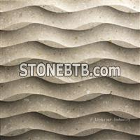 3D decorative feature stone wall tile