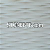 3d interior feature stone wall art paneling