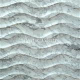 3d nature interior white carrara wall decoration