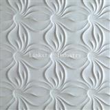 3D whiter interior artistic sculptural feature stone wall art tile