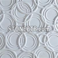 Decorative 3D interior stone wall design