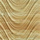 Natural travertine 3d indoor wall art paneling