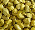 Tiger yellow pebble stone