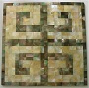 Shell Mosaic Floor Tile