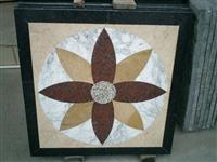 DL Stone Mosaic Table,Marble Mosaic Table