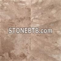 Walnut 18x18 Honed and Unfilled Travertine Tile