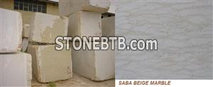Saba Beige Marble Blocks