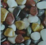 Five Colors Pebble Stone