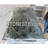 Nanping Green Emperador Granite Polished Flooring (Thin Panel)