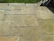 Indian Sandstone Pavement