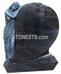 Colored drawing tombstone CH-003