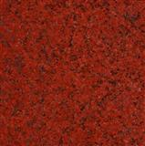 Red dyed granite