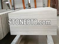White Wood Limestone Tile