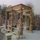 Stone Sculptured Gazebo