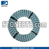 Diamond Wire Saw for Cutting Grantie and Marble in Factory