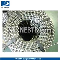 Sintered Pre-Open Diamond Wire Saw for Granite&Marble Quarry