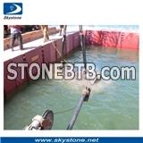 Diamond Wires for Concrete Underwater Cutting, Wire Sawing Underwater