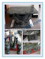 Garden  Granite Table & Chairs