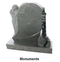 Chinese Grey Headstone