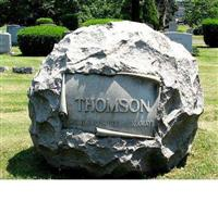 Field Stone Monument,Tombstone