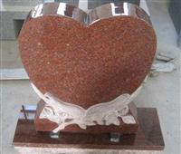 Heart Design Monument,Headstone