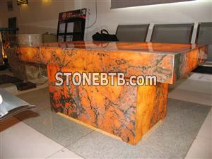 Backlit Afterglow Onyx Table
