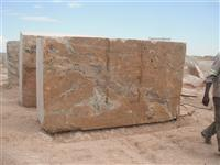 Juparana Golden Granite Block