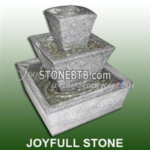 Stone Columned Fountain (GFO-017)