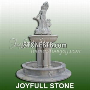 Hand-Carved Fountain Sculpture (GFP-088)