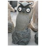 Stone Owl Carvings